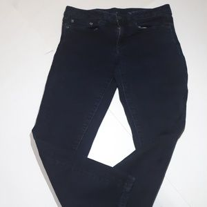Tory Burch Cropped Skinny Blue Jeans 25